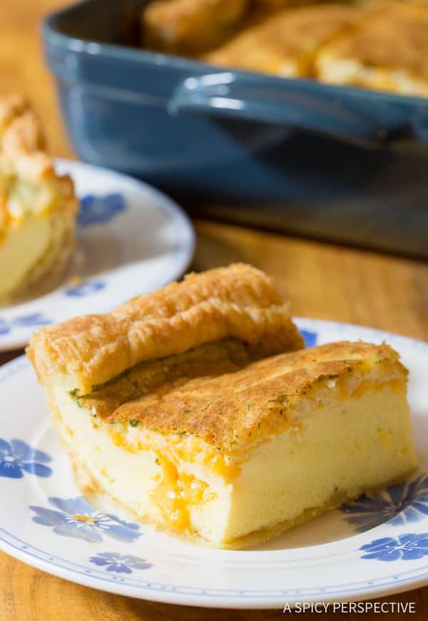The Best Fluffy 5-Ingredient Omelette Bake #holiday #christmas #easter