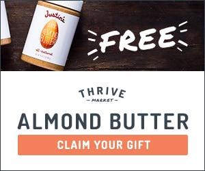 Thrive Market Almond Butter