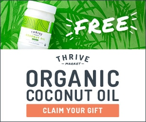 Thrive Market Coconut Oil