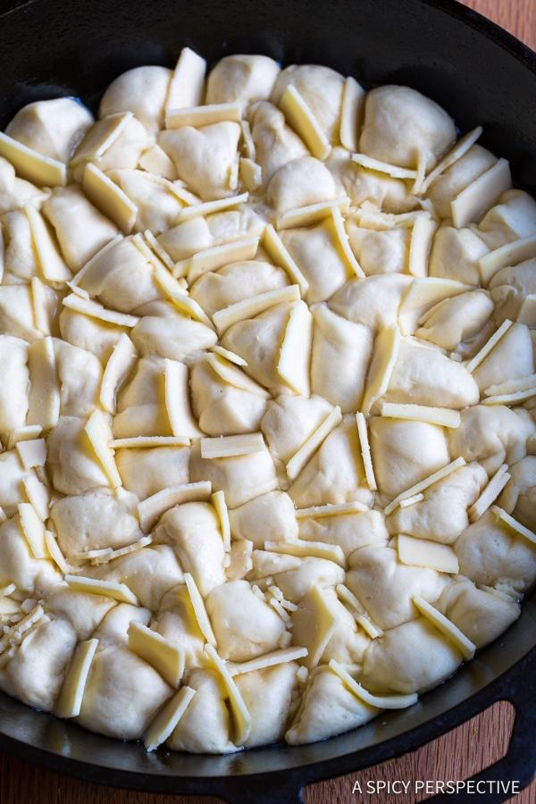 Cheesy Garlic Pull Apart Bread Recipe