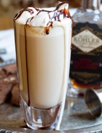 Chocolate Brandy Latte Recipe | ASpicyPerspective.com
