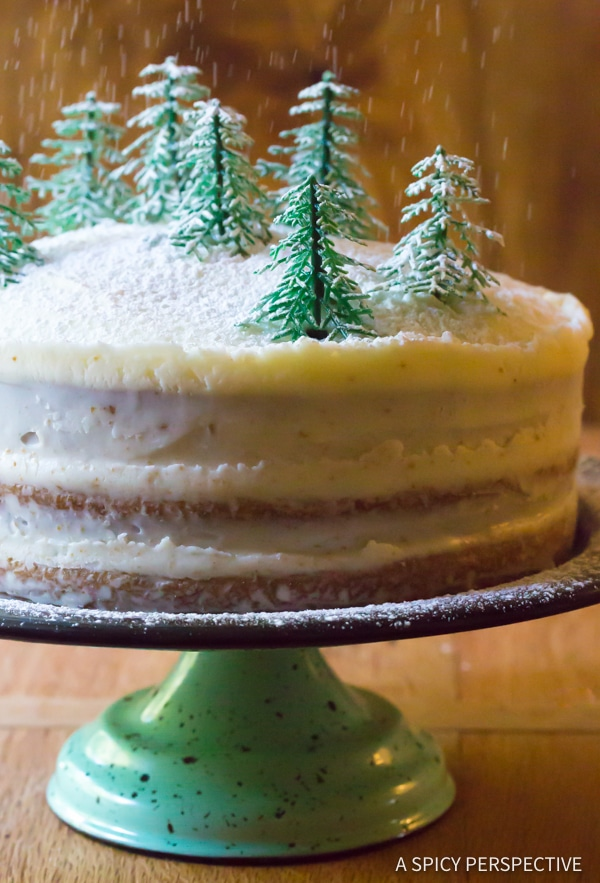 Ultimate Cinnamon Dolce Latte Cake with Mascarpone Frosting