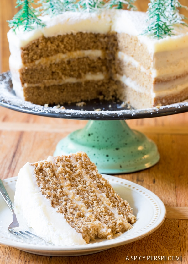 Best Cinnamon Dolce Latte Cake with Mascarpone Frosting