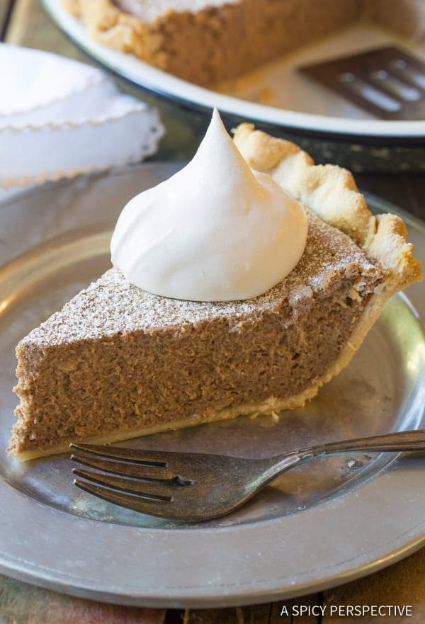 Cinnamon Pie Recipe | ASpicyPerspective.com