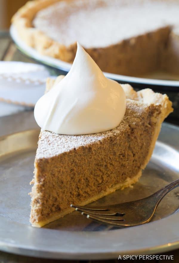 Perfect Cinnamon Pie Recipe | ASpicyPerspective.com
