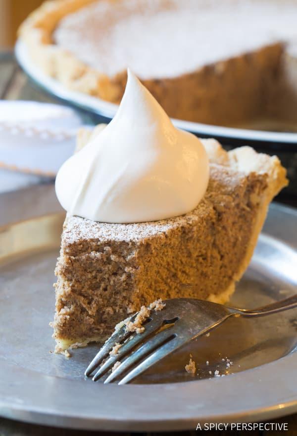 Easy Cinnamon Pie Recipe | ASpicyPerspective.com