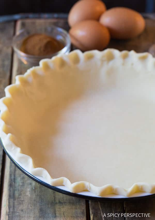 Making a Perfect Cinnamon Pie Recipe | ASpicyPerspective.com