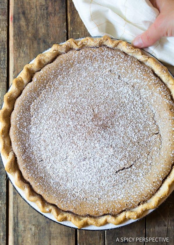 Heavenly Cinnamon Pie Recipe | ASpicyPerspective.com