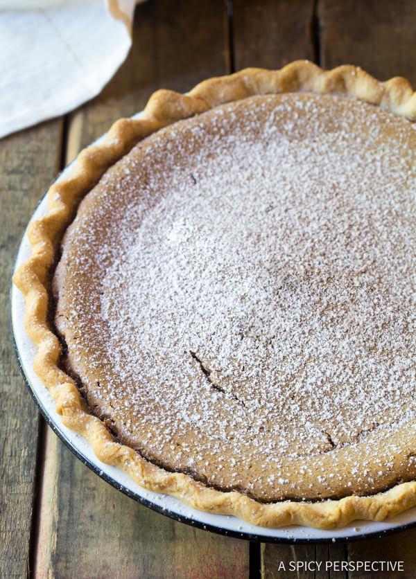 Best Cinnamon Pie Recipe | ASpicyPerspective.com