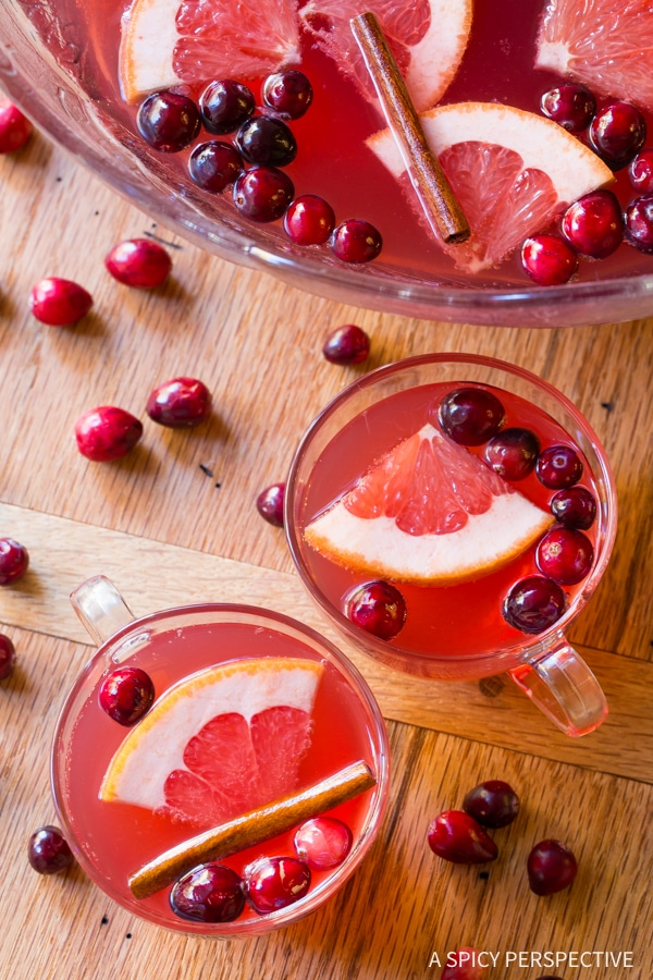 Holiday Punch #ASpicyPerspective