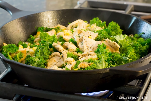 How To: Low Carb Market Chicken Skillet #healthy