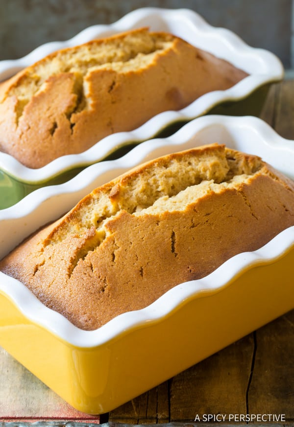 How To: Pecan Praline Pound Cake Recipe | ASpicyPerspective.com
