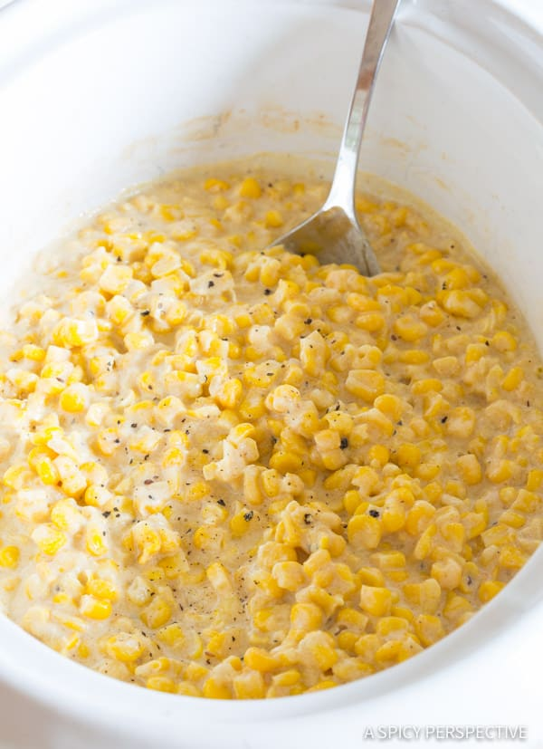 Creamed Corn #ASpicyPerspective