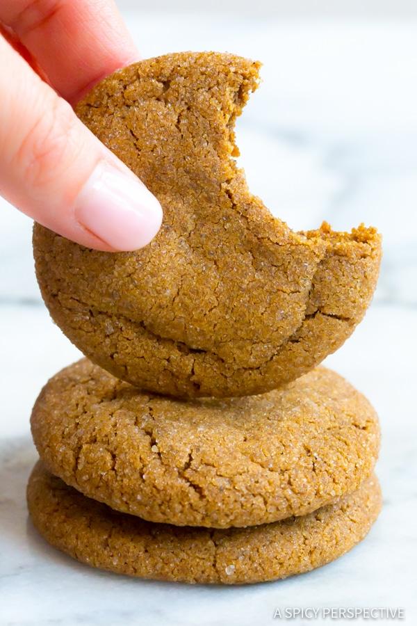 Molasses Cookies #ASpicyPerspective