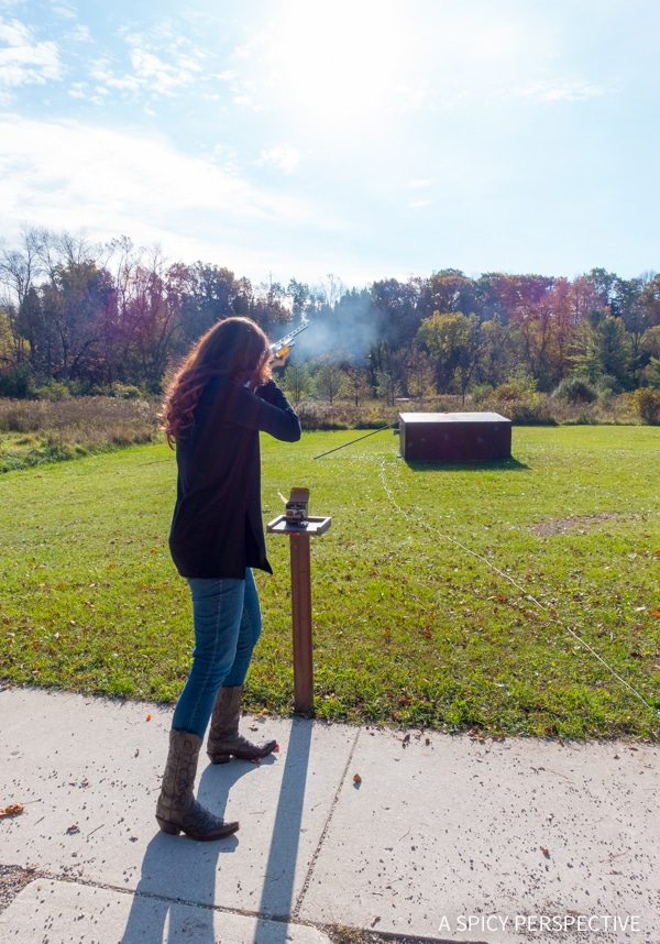 Trap Shooting in Kohler Wisconsin