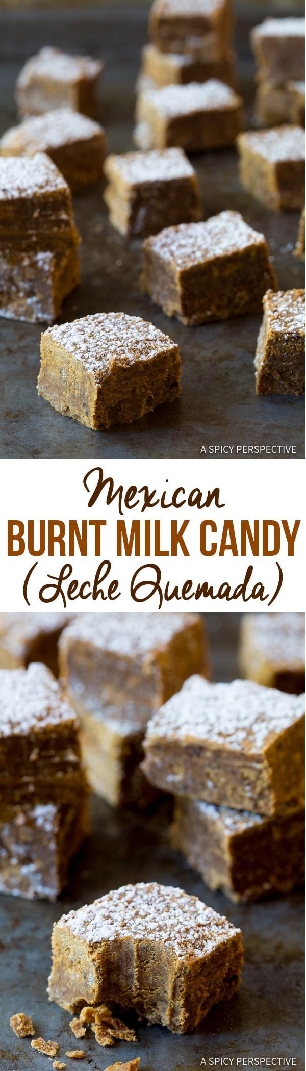 Mexican Burnt Milk Candy (Leche Quemada) Recipe | ASpicyPerspective.com
