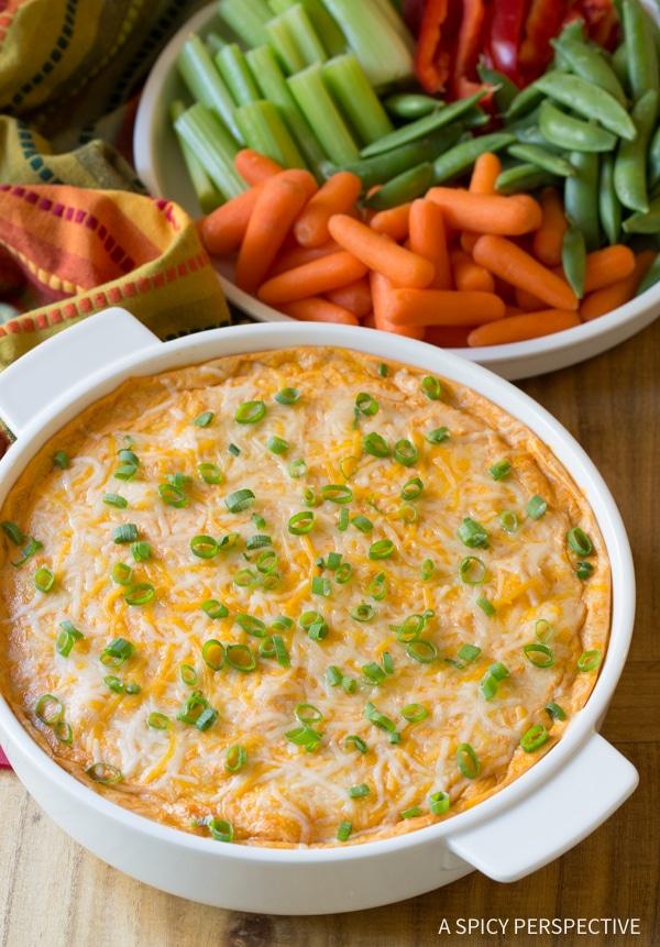 Simple 5-Ingredient Skinny Chicken Enchilada Dip #lowcarb #lowfat #healthy