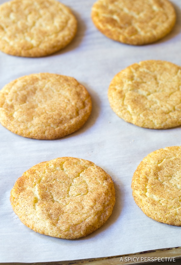 The Perfect Snickerdoodle Sandwich Cookies | A Spicy Perspective #christmas #holidays