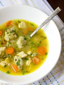 Chicken and Dumplings Soup