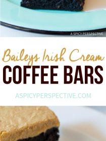 Baileys Irish Cream Coffee Bars for Saint Patrick's Day!
