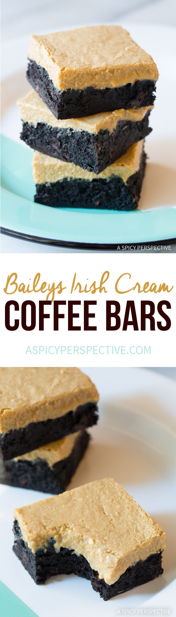 Baileys Irish Cream Coffee Bars for Saint Patrick's Day!