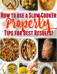 How to Use A Slow Cooker Properly - Tips & Tricks for Best Results!