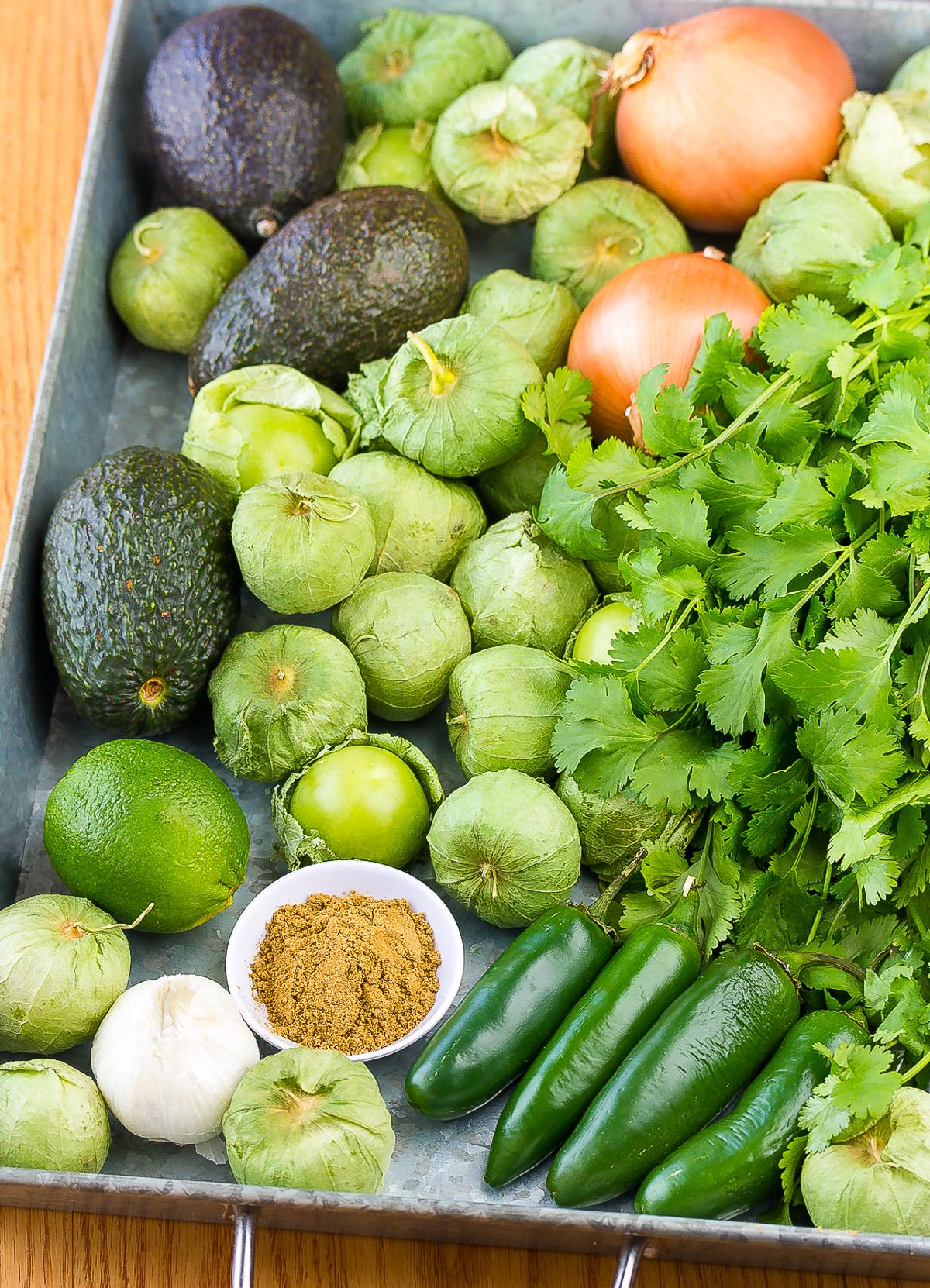 How To Make Salsa Verde  #ASpicyPerspective #homemade #salsa #salsaverde #verde #avocado #tomatillo #best #summer #fresh