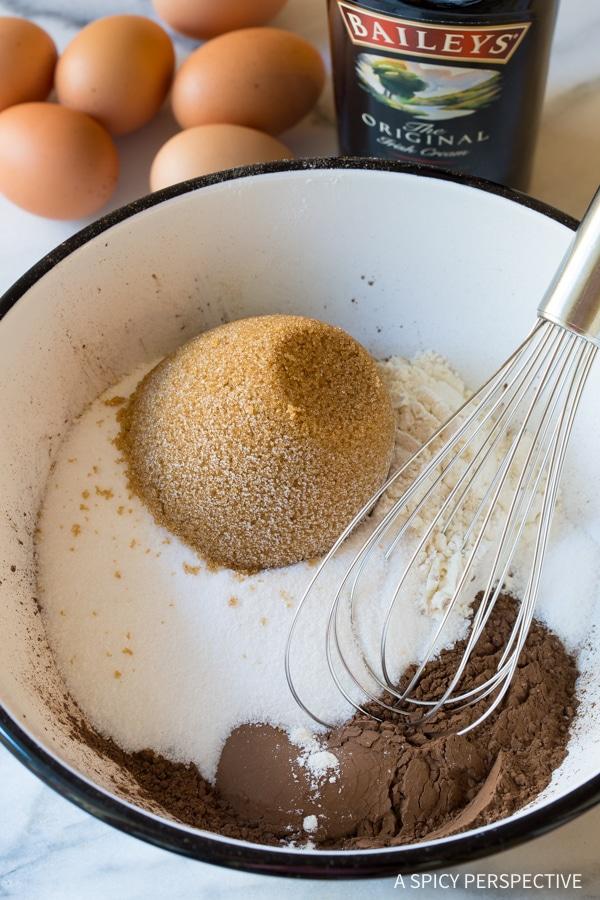 Making Baileys Irish Cream Coffee Bars for Saint Patrick's Day!