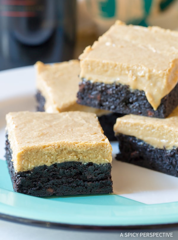 Heavenly Baileys Irish Cream Coffee Bars for Saint Patrick's Day!