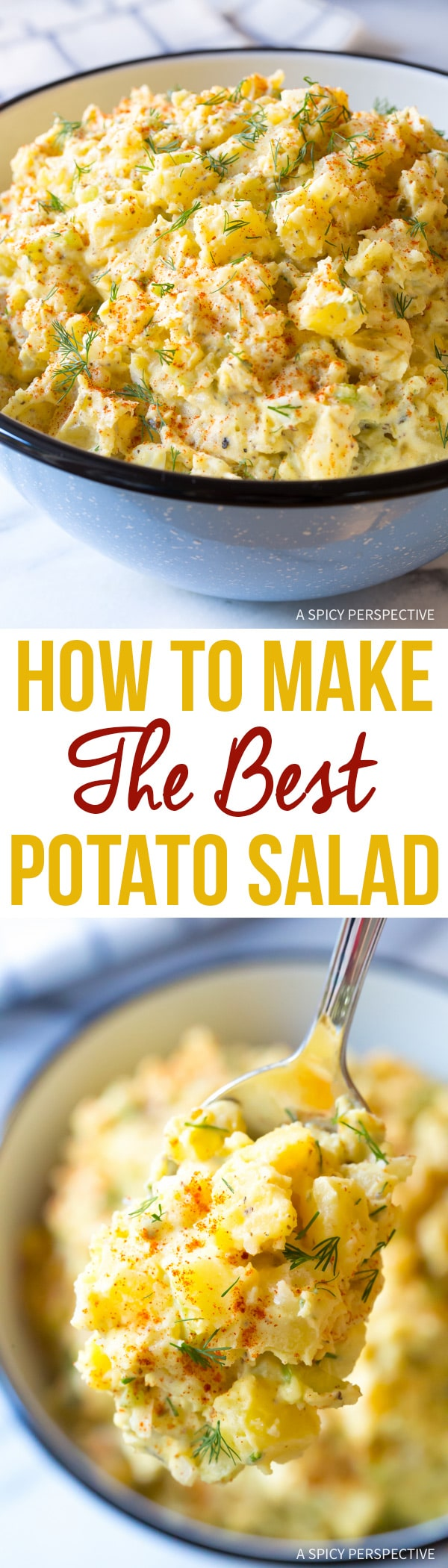 How To Make The Best Potato Salad Recipe Ever