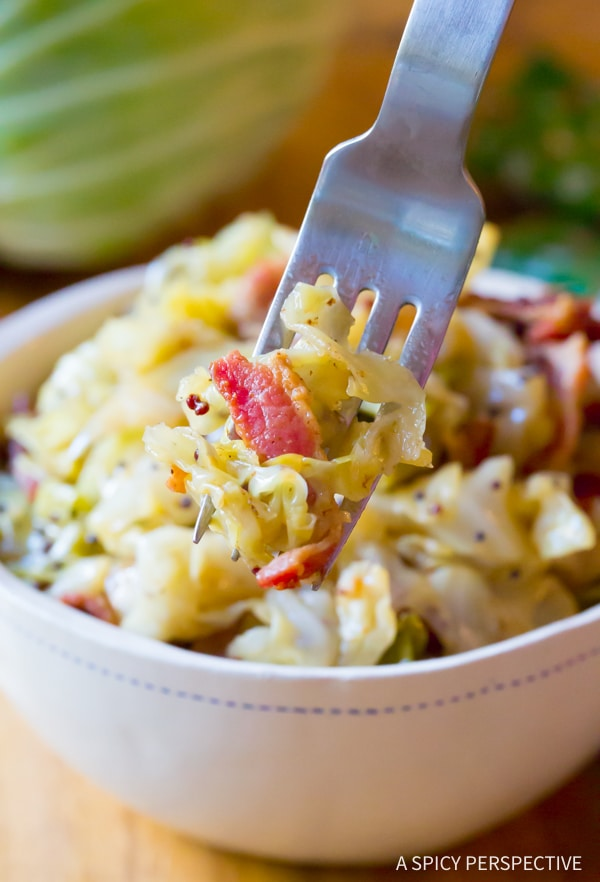 Amazing 5-Ingredient Irish Cabbage and Bacon Recipe for Saint Patrick's Day!