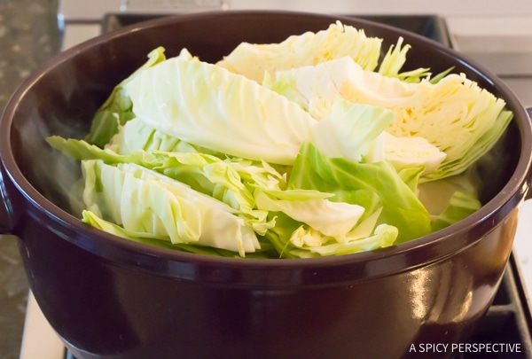 How to Make Irish Cabbage and Bacon Recipe for Saint Patrick's Day!
