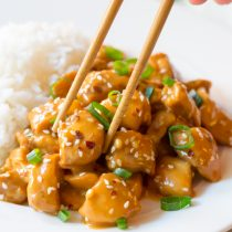 Low Carb Slow Cooker Orange Chicken