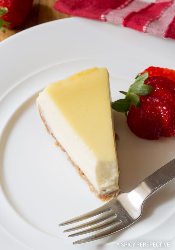 TDF! Perfect Slow Cooker Cheesecake Recipe