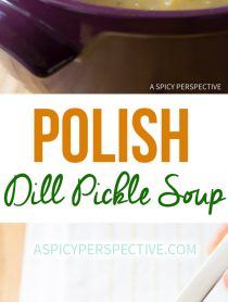 Polish Dill Pickle Soup (AKA Polish Potato Soup)