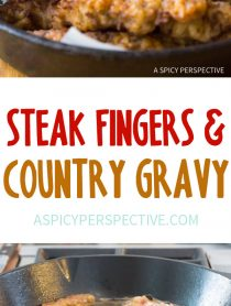 Crispy Steak Fingers with Country Gravy Recipe