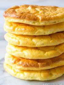The Best Cloud Bread Recipe #lowcarb #glutenfree #grainfree