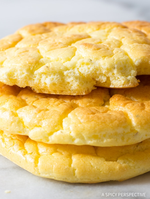Seriously, The Best Cloud Bread Recipe #lowcarb #glutenfree #grainfree