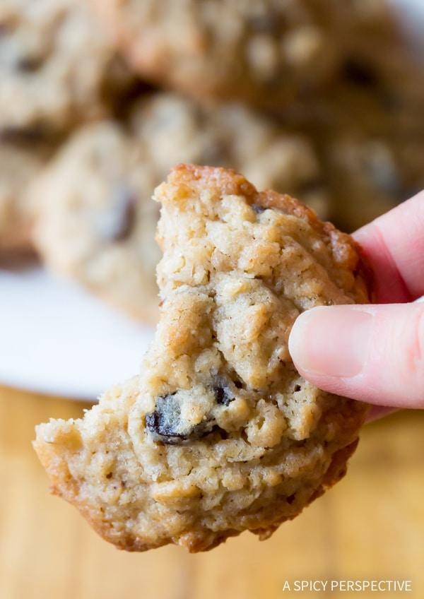 Oatmeal Raisin Cookie Recipe #ASpicyPerspective #Oatmeal #Raisin #Cookies #OatmealRaisinCookies #OatmealRaisinCookieRecipe #HowtoMakeOatmealRaisinCookies #TheBestOatmealRaisinCookies