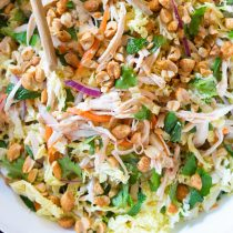 Vietnamese Cold Chicken Salad (Goi Ga) #healthy #lowcarb #paleo