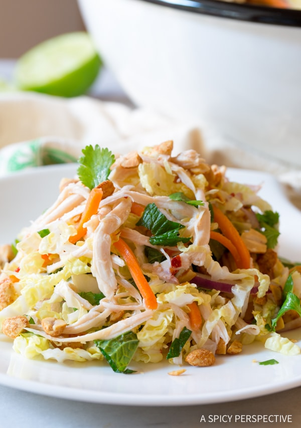 Perfect Vietnamese Cold Chicken Salad (Goi Ga) #healthy #lowcarb #paleo