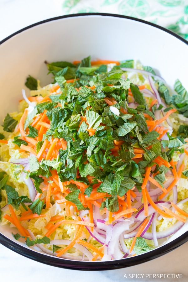 Making Vietnamese Cold Chicken Salad (Goi Ga) #healthy #lowcarb #paleo