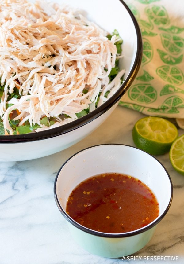 Easy Vietnamese Cold Chicken Salad (Goi Ga) #healthy #lowcarb #paleo