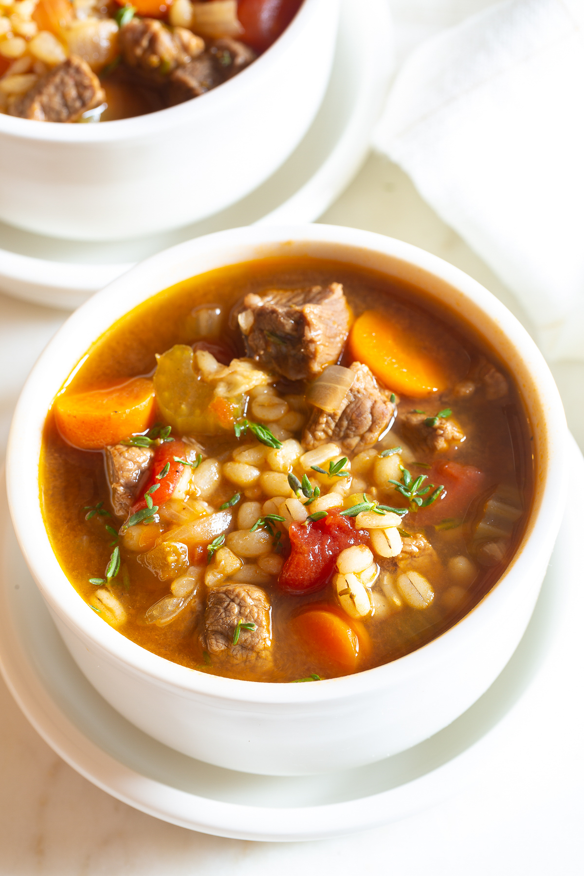 classic beef barley soup recipe  a spicy perspective