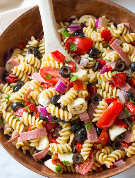 The Best Italian Pasta Salad Recipe