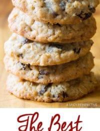 Best Oatmeal Raisin Cookies Ever!