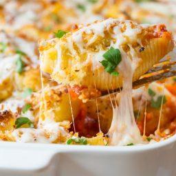 Chicken Parmesan Stuffed Shells Recipe