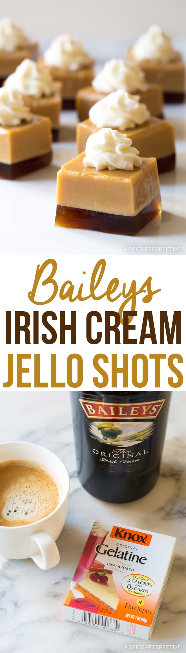 Baileys Irish Cream Jello Shots Recipe A Spicy Perspective
