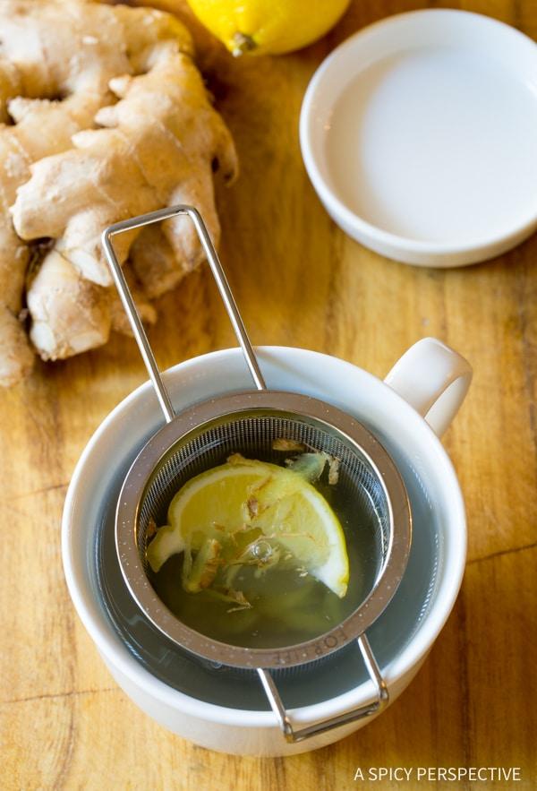 Amazing Lemon Ginger Detox Tea Recipe
