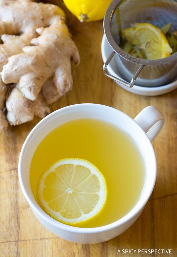 Best Lemon Ginger Detox Tea Recipe